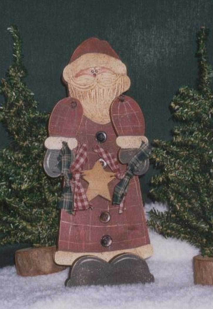 Wood crafts santa claus for Christmas wood craft patterns