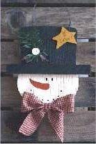 Bola de Neve - tole padrões de pintura para bonecos de neve