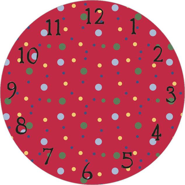 24 printable clock faces