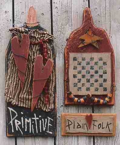 This is an image of Modest Primitive Craft Patterns