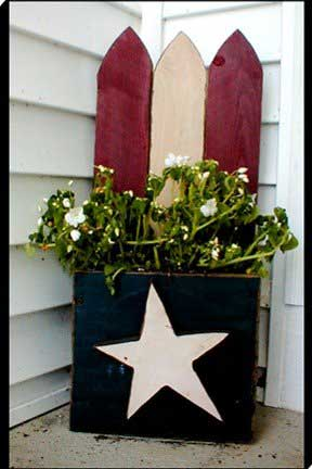Free wood crafts americana for Americana crafts to make