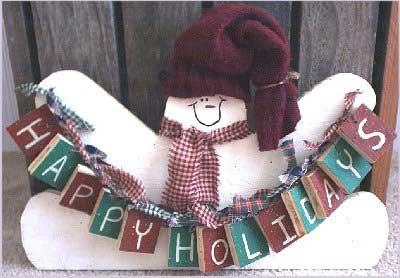 Christmas Crafts Snowman Craft Ideas