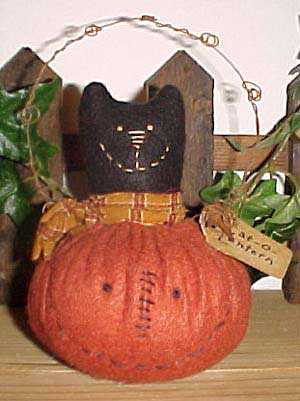 Happy Jack Cat-o-Lantern