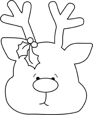 Satisfactory image with regard to reindeer printable template