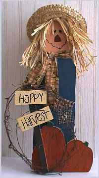 Scarecrows Wood Crafts