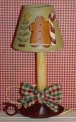 Gingerbread Lamp Glampfreemed