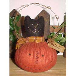 Happy Jack Cat-o-Lantern Craft Pattern