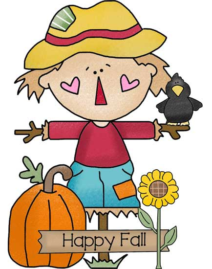 Scarecrow Clipart for Wood